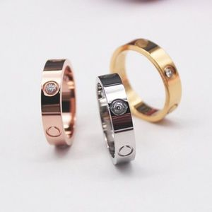 6mm ring to match love bracelet stainless steel